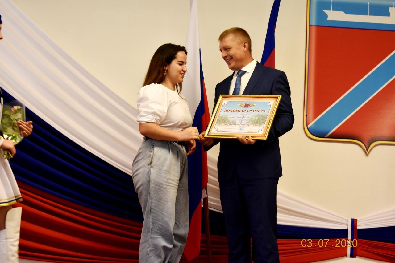 """""""Волонтерский корпус города Туапсе"""" был награжден почетной грамотой главы города Туапсе"""