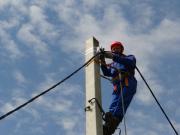 В Туапсе продолжается строительство линий электроснабжения
