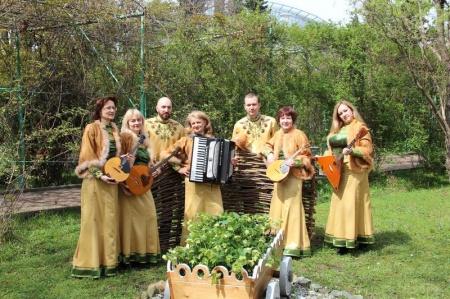 Концерт ансамбля «Калинка» в Шепси