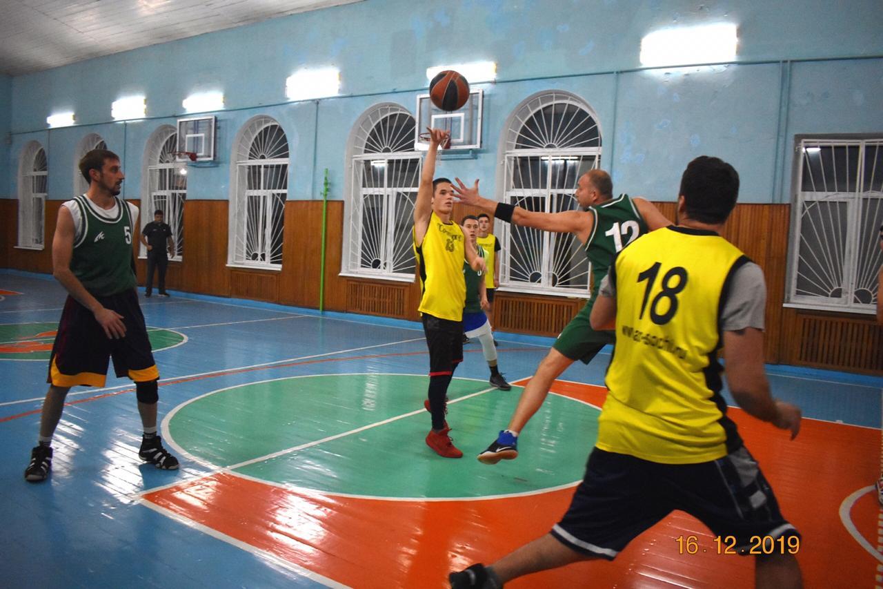 Баскетбол в Туапсе