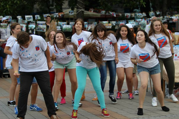 27 июня на площади Октябрьской Революции состоялся большой праздник!