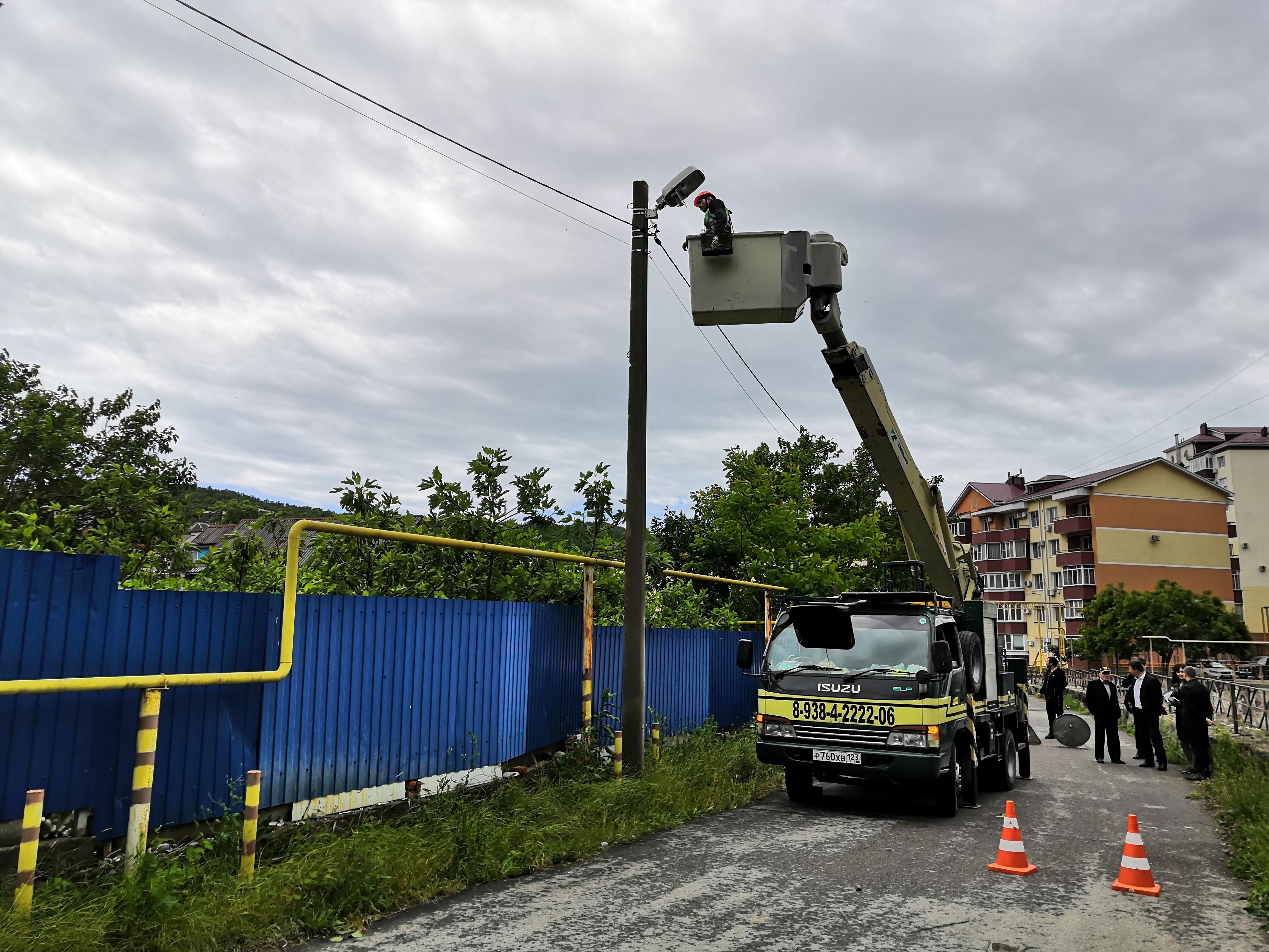 В Туапсе реализуется энергосберегающий проект