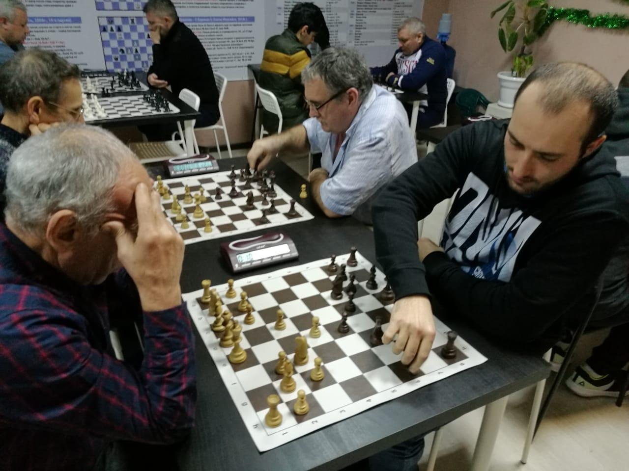 В Туапсе разыграли Кубок по быстрым шахматам