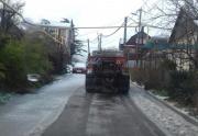 Расчистка улиц в Туапсе