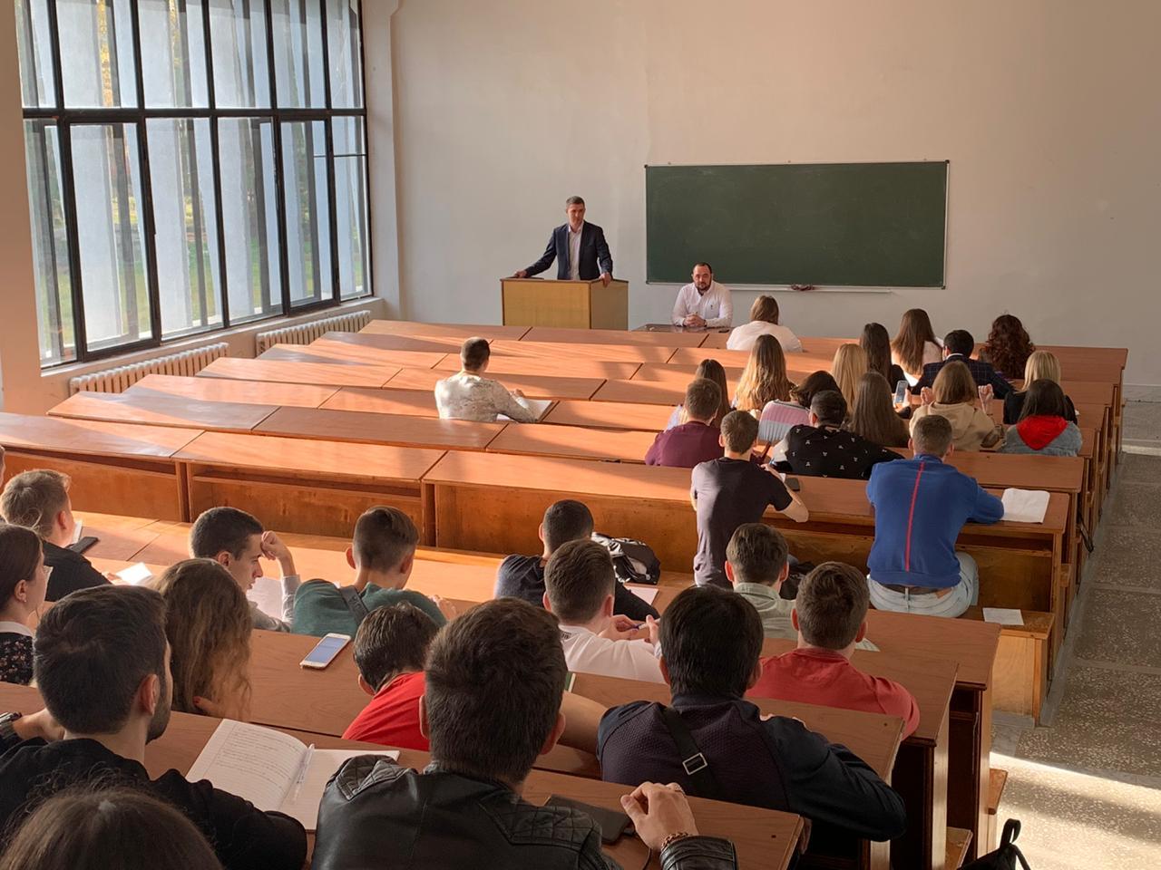 О местном самоуправлении – со студентами КубГАУ