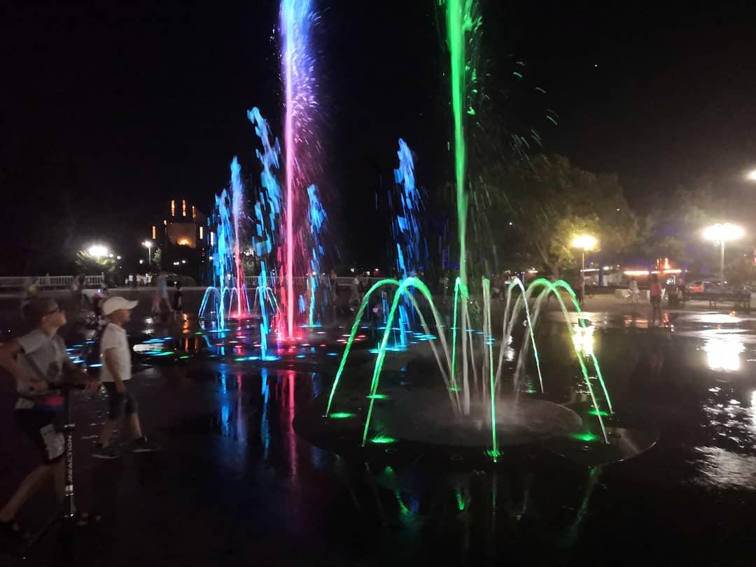 В Туапсе к майским праздникам заработают фонтаны