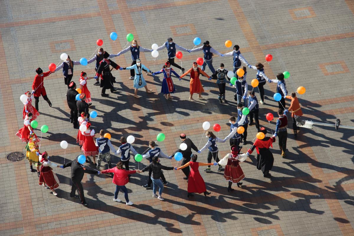 День народного единства - флешмоб