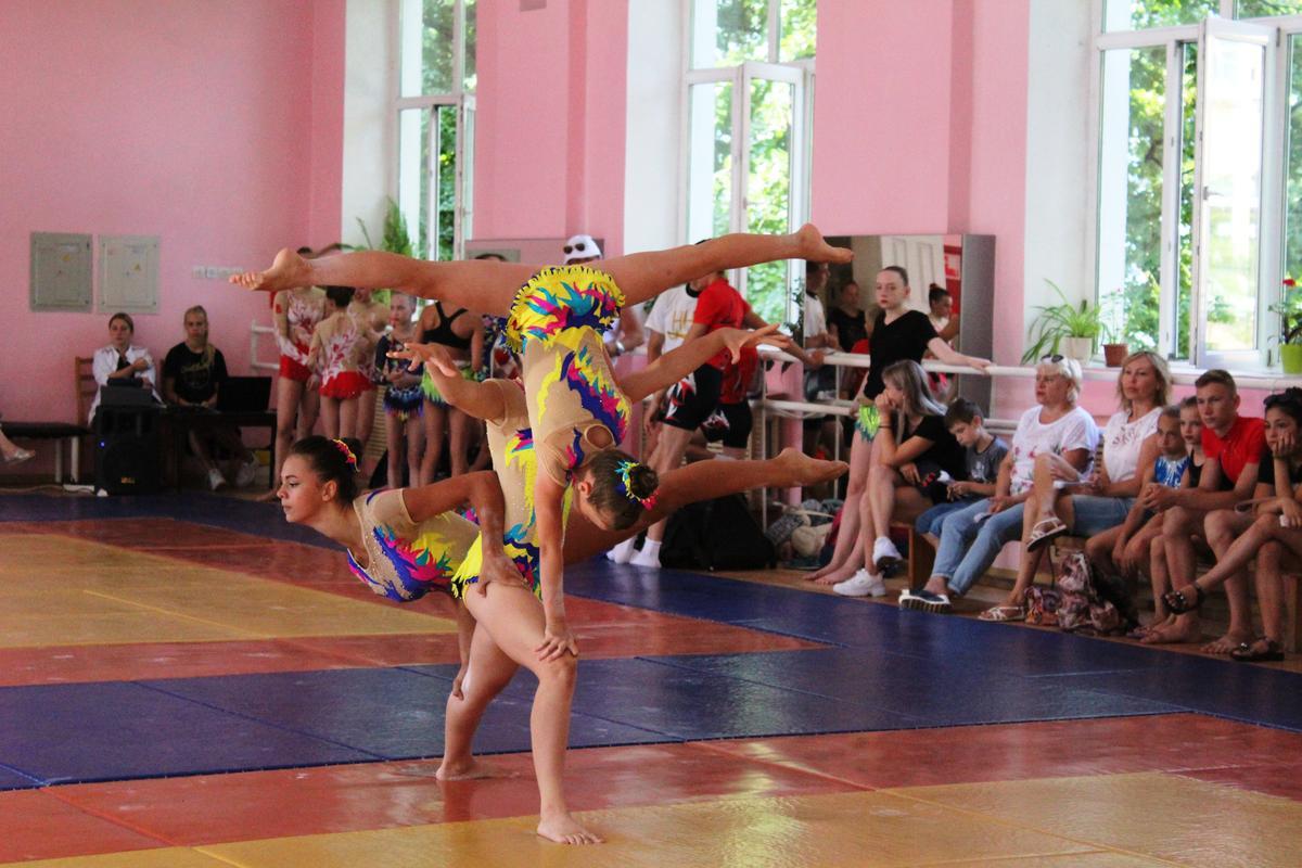 Первенство города Туапсе по спортивной акробатике