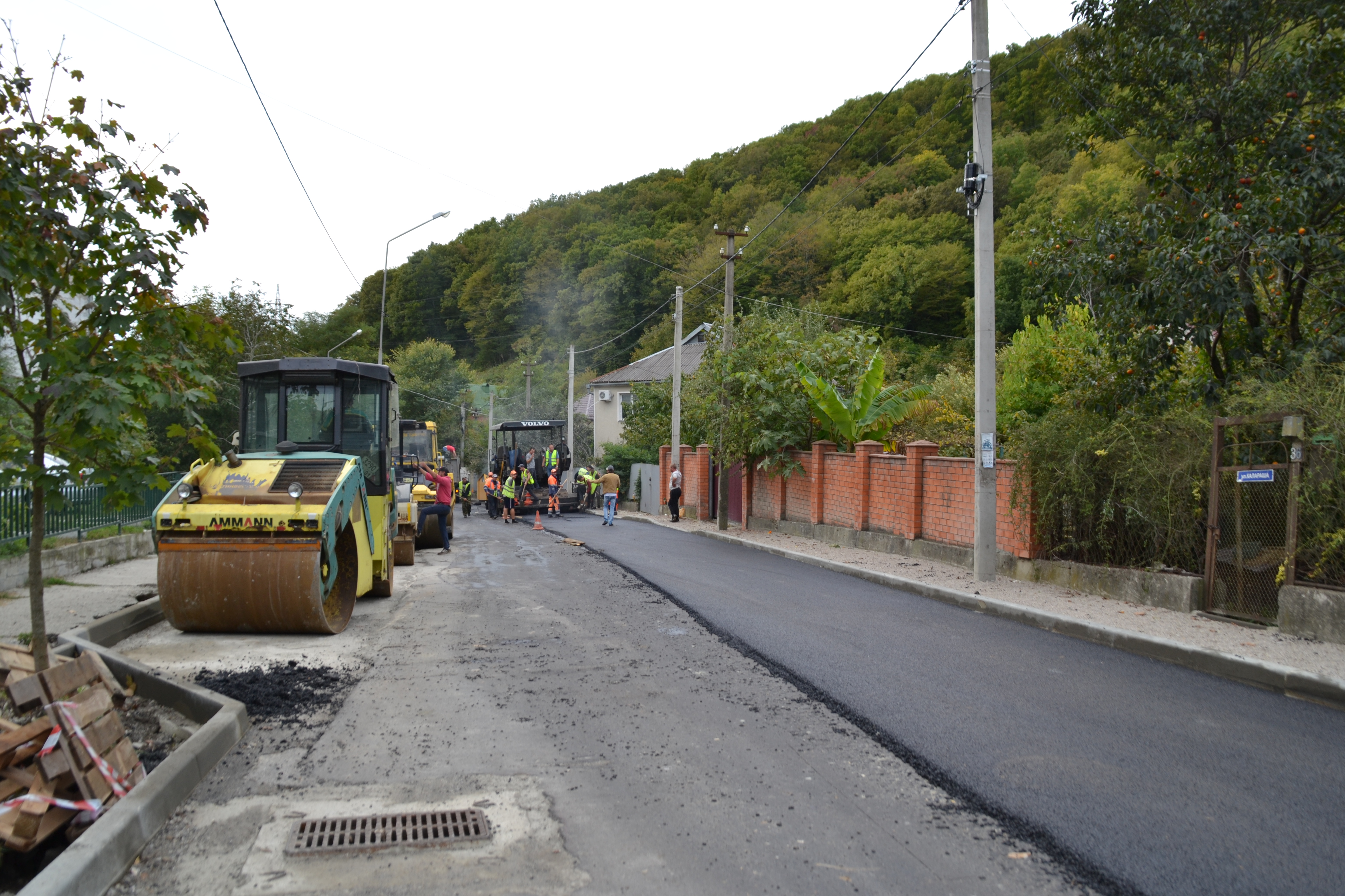 Новый асфальт для улиц Туапсе