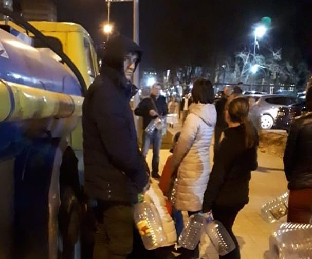 Туапсе помогает Новороссийску