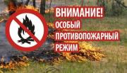 На территории города Туапсе введен особый противопожарный режим