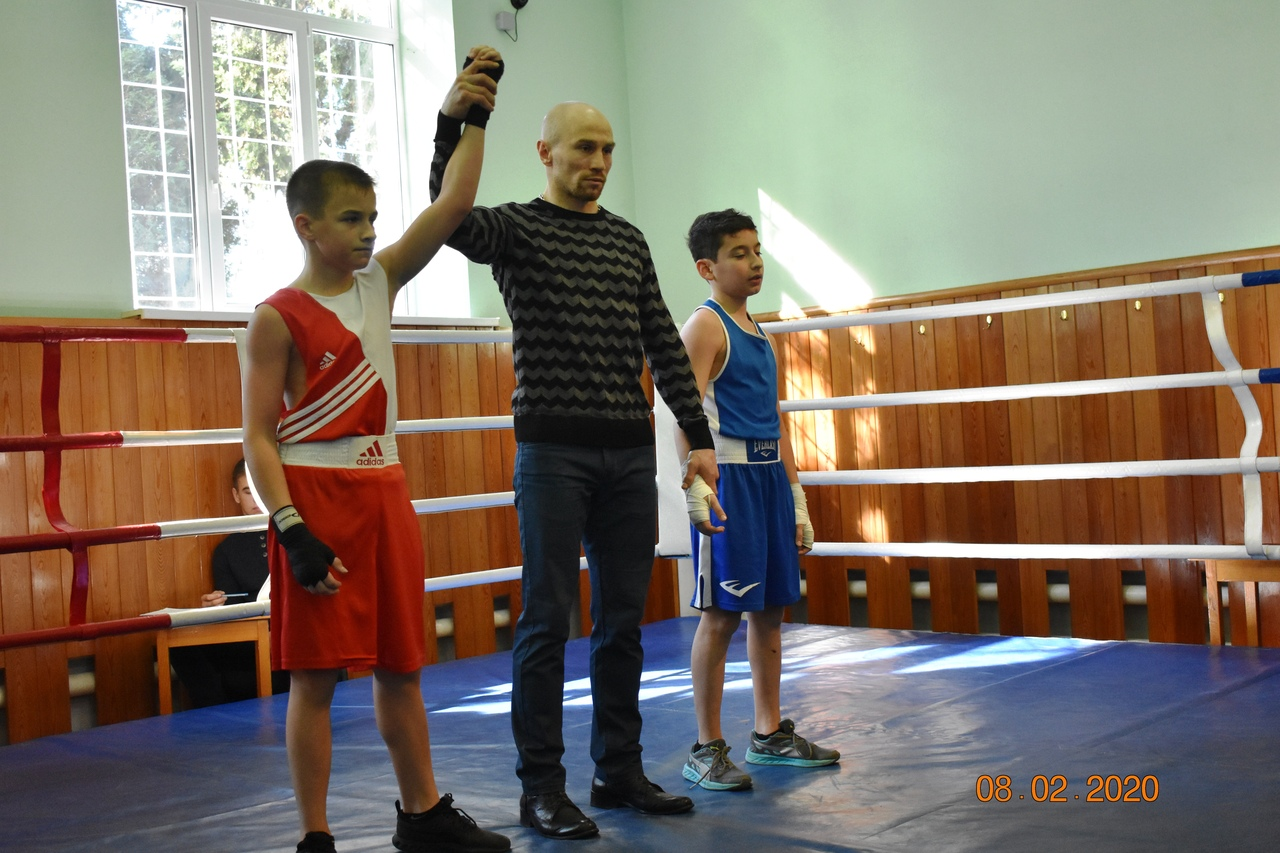 Турнир по боксу ко Дню защитника Отечества
