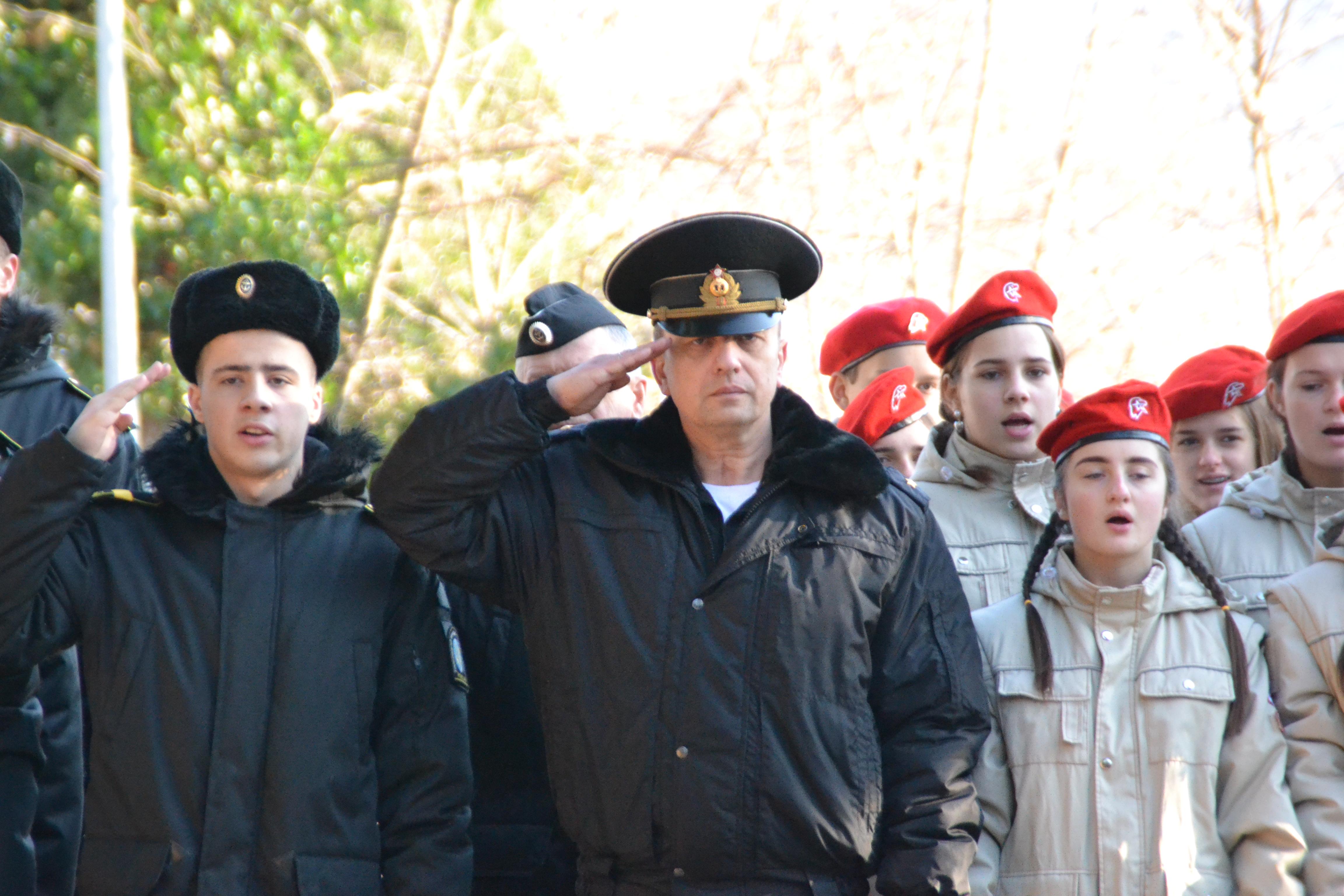 В Туапсе торжественно дан старт краевой акции «Наша Великая Победа»