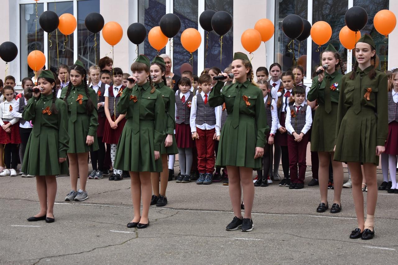 Дан старт Всероссийской акции Георгиевская лента