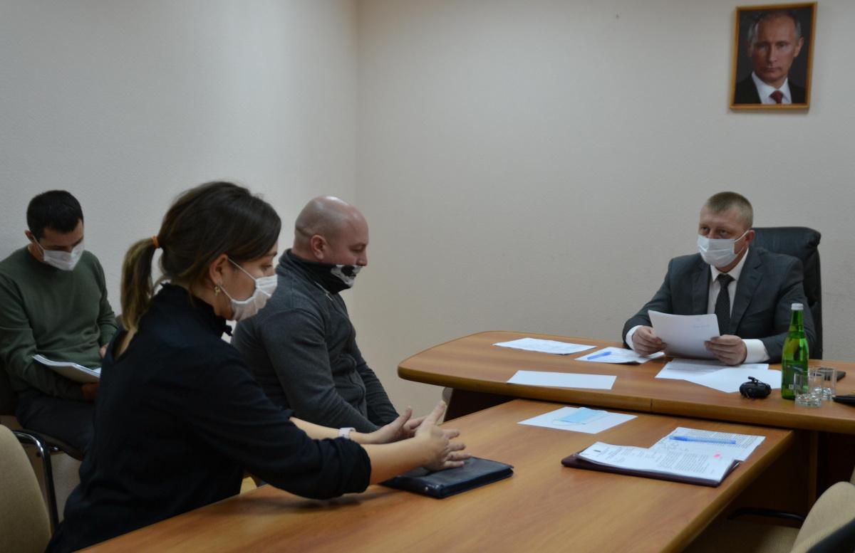 Глава Туапсе Сергей Бондаренко провел личный прием граждан