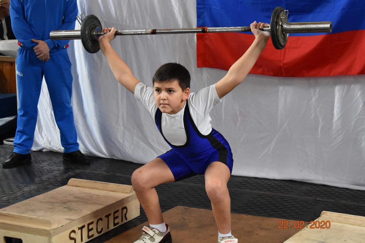 Первенство города Туапсе по тяжелой атлетике