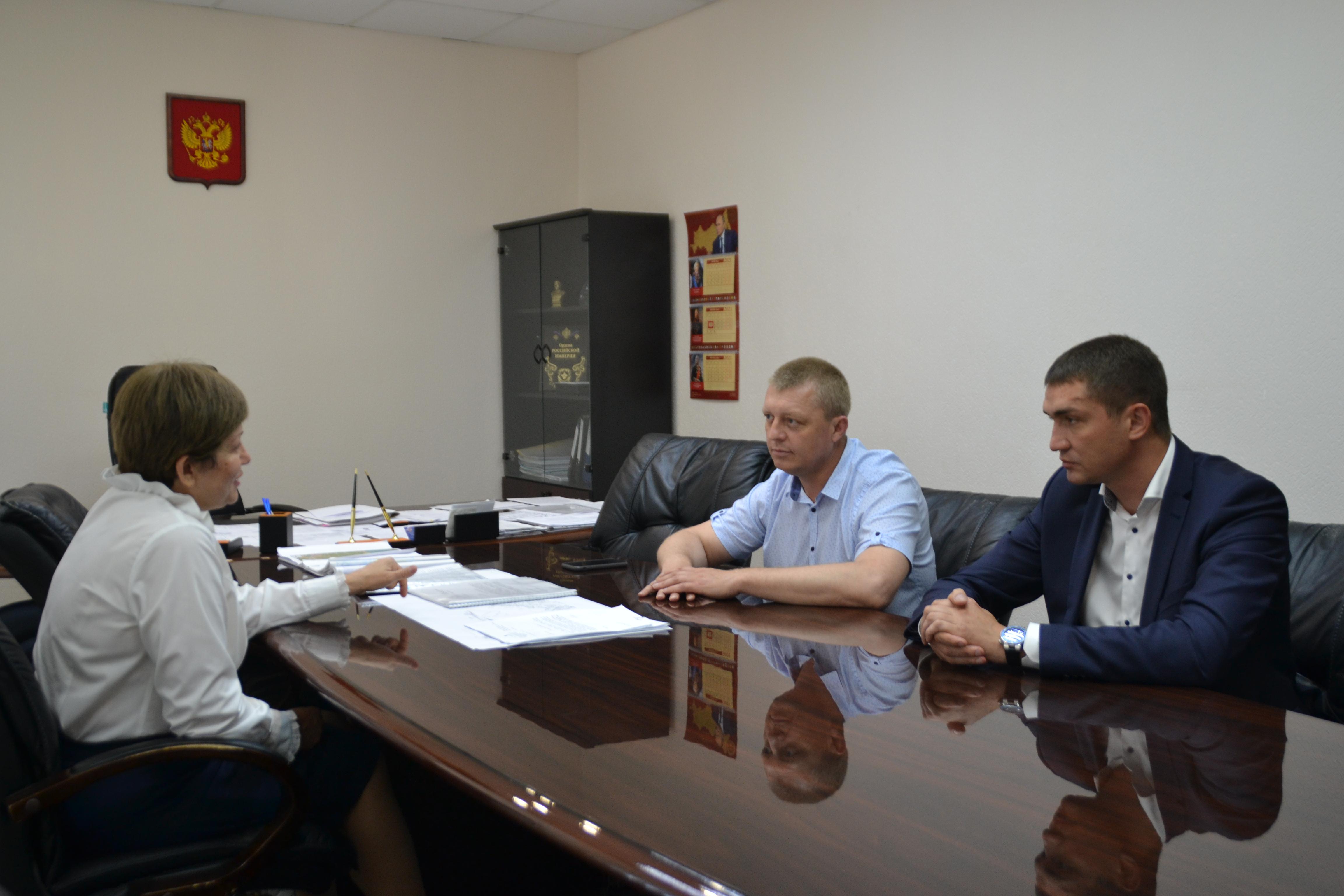 Сергей Бондаренко встретился с Уполномоченным по правам ребенка в Краснодарском крае Татьяной Ковалевой