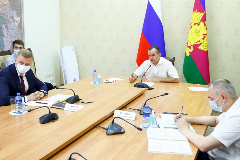 Губернатор Кубани поддержал реализацию проекта газификации микрорайона «Барсова Щель» в Туапсе