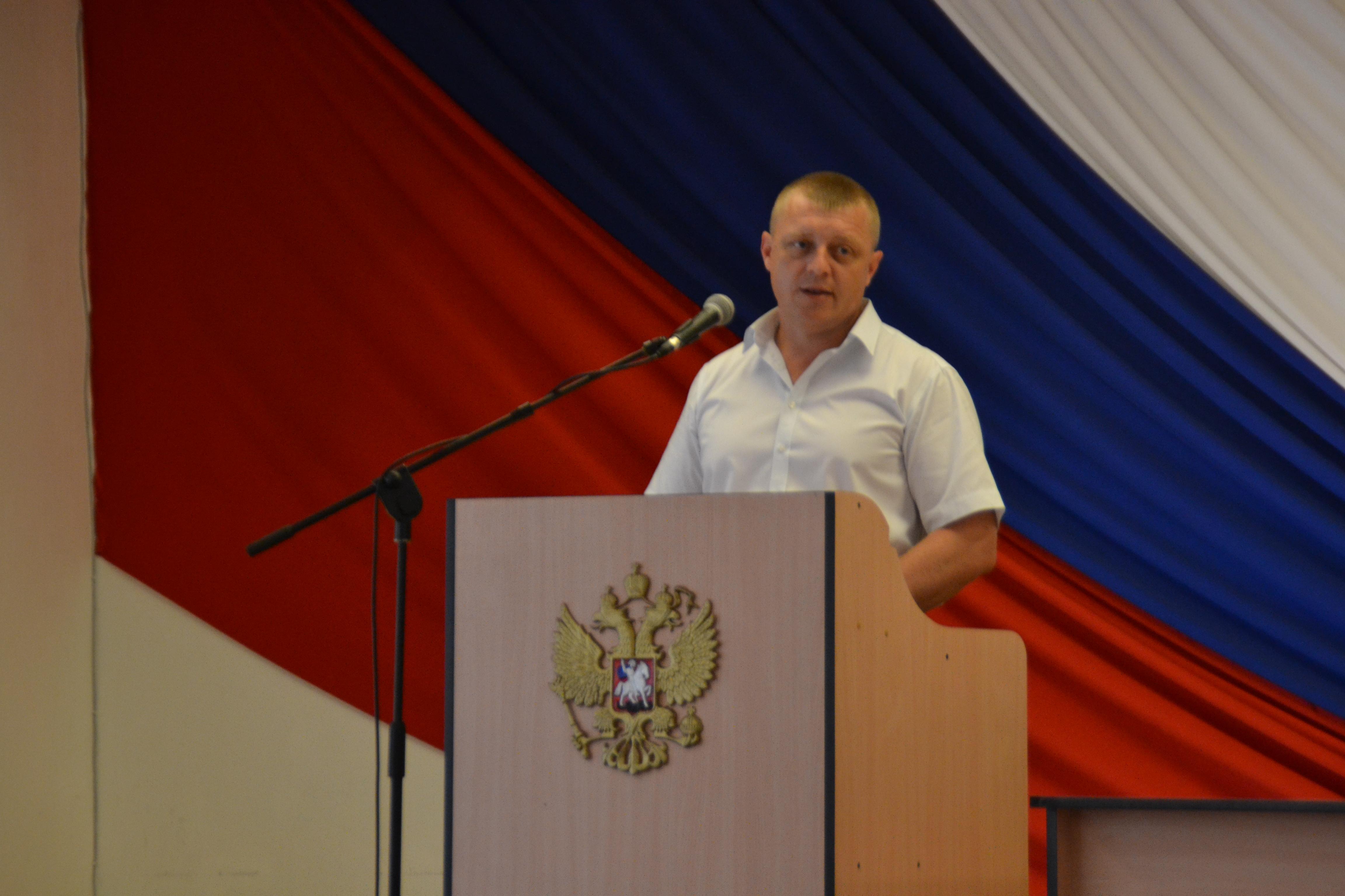 Главой города Туапсе избран Сергей Бондаренко