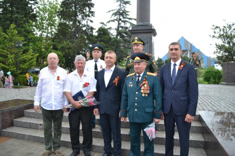 Свой 77-ой День рождения отмечает председатель Совета ветеранов Туапсинского района Владимир Никитенков