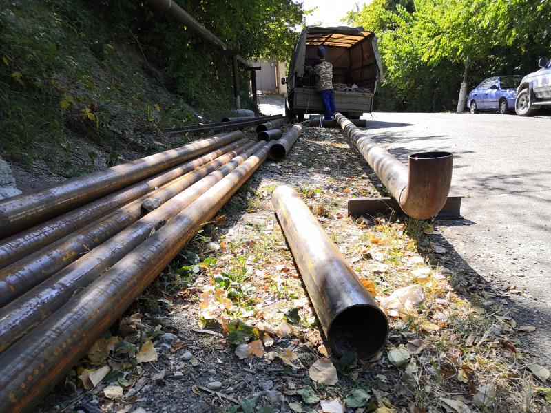 Строительство подводящего газопровода на Грознефти