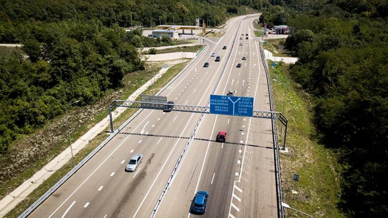 Протяженность новой трассы Джубга-Сочи составит 119 километров