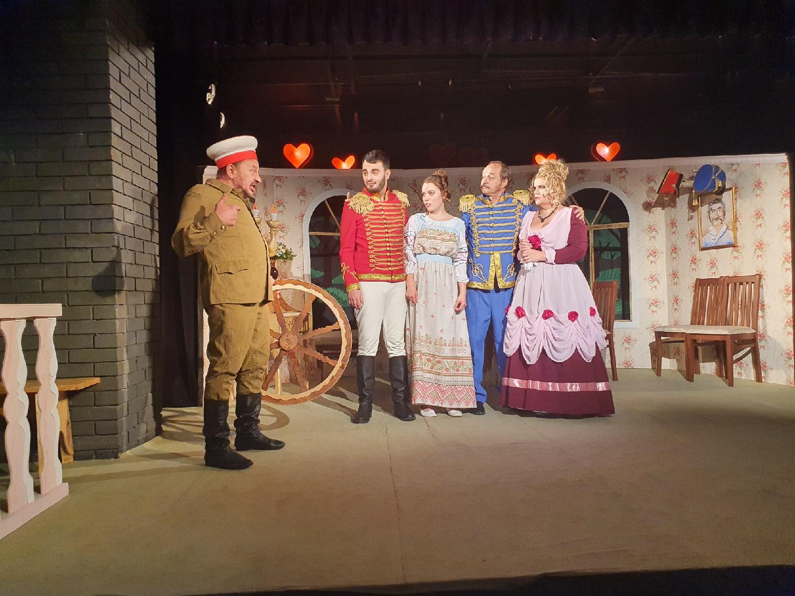В Туапсинском театре юного зрителя состоялась сдача нового спектакля «Так не бывает!»