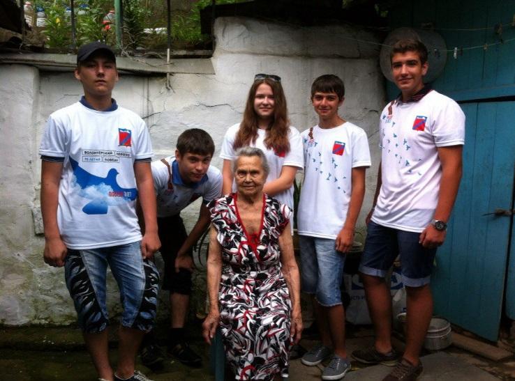 О работе подростковой трудовой бригады, в том числе «Новых тимуровцев».