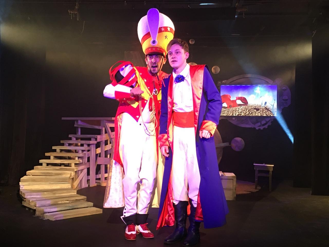 В Туапсинском ТЮЗе успешно прошла сдача нового спектакля