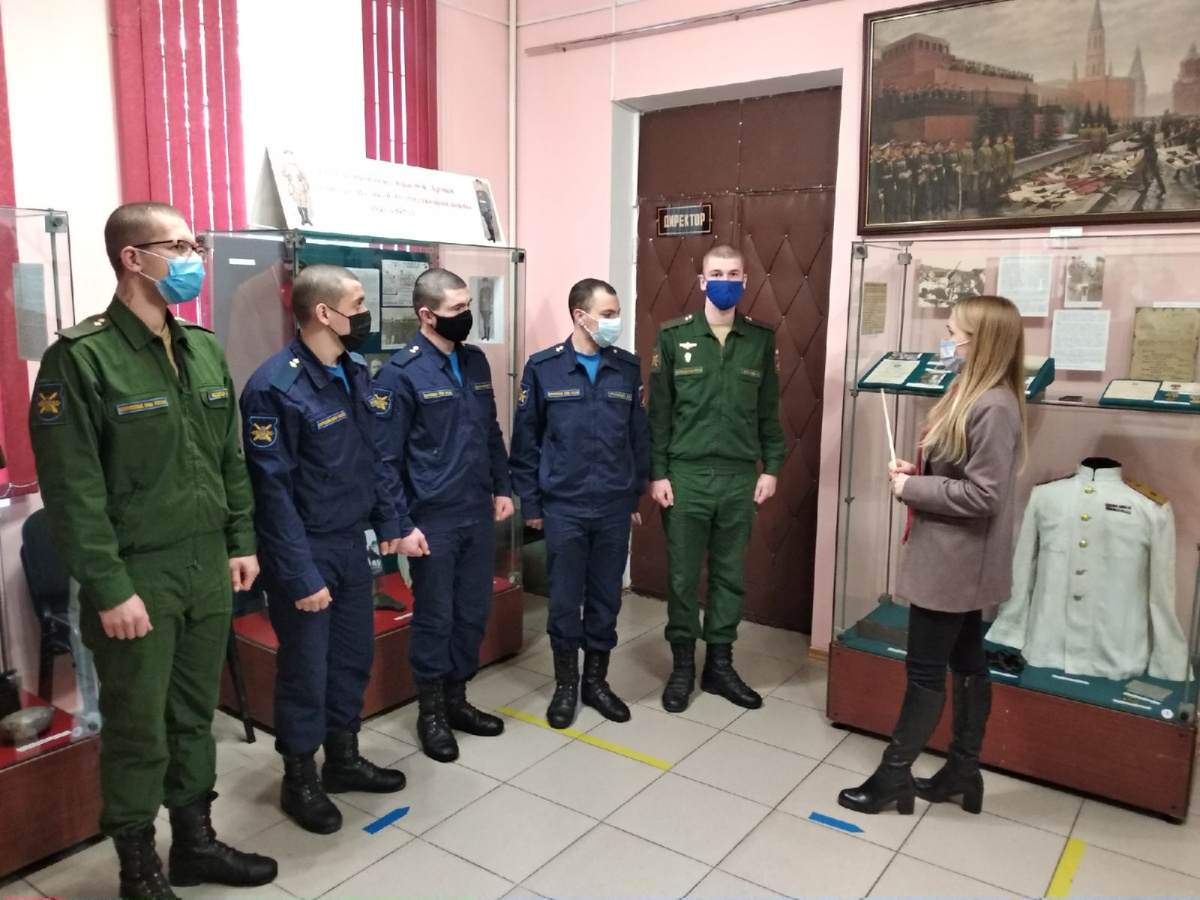 Посещение музея Полетаева