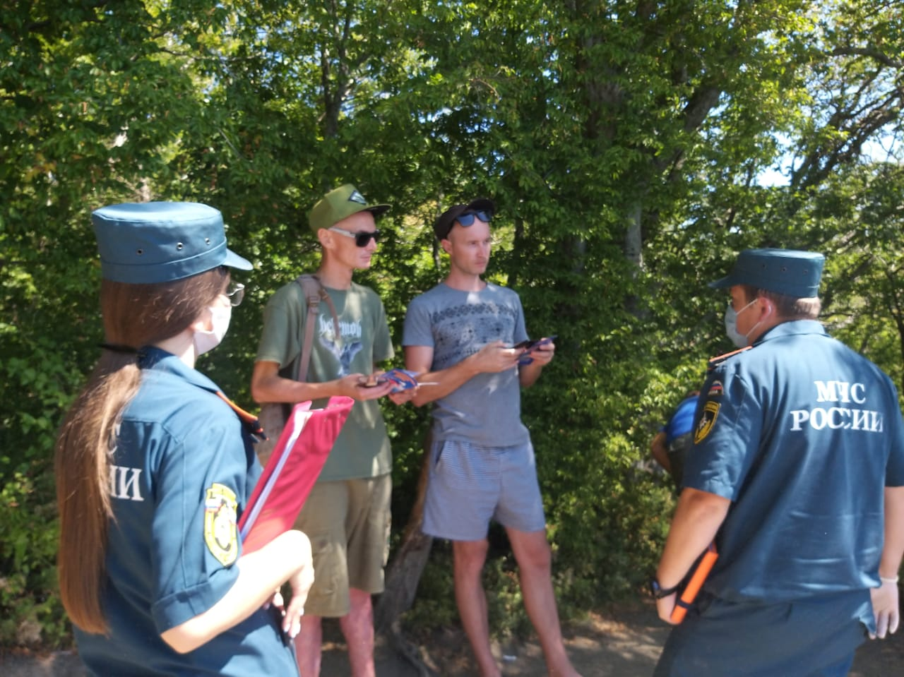 Туристам – о правилах пожарной безопасности