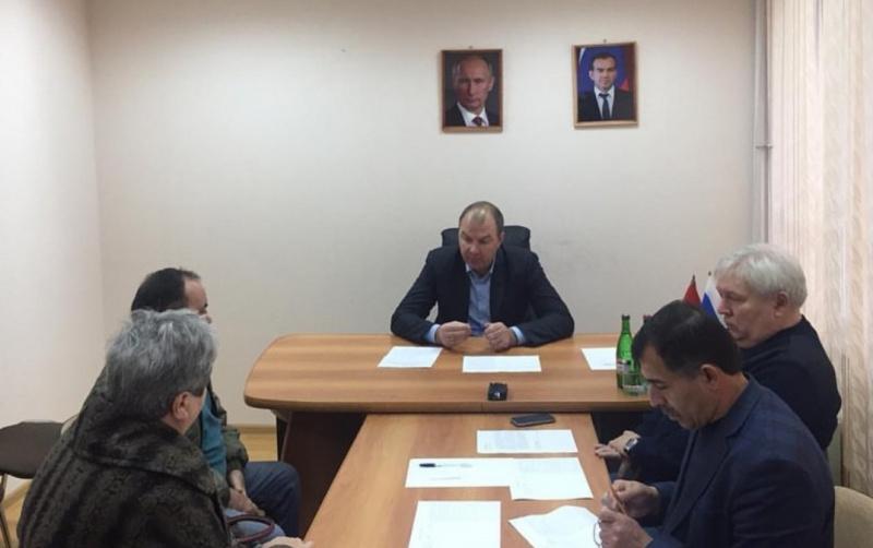Глава Туапсинского района Анатолий Русин провел личный прием граждан в администрации Туапсе