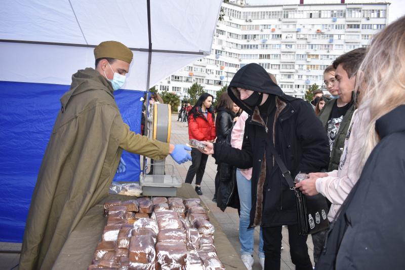 """Всероссийская акция """"Блокадный хлеб"""""""