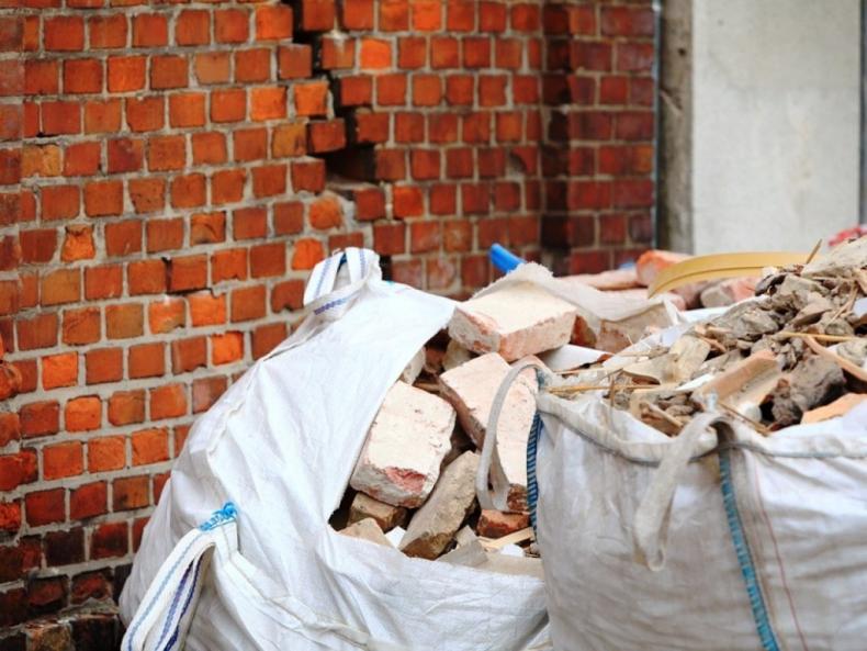 О вывозе строительного мусора
