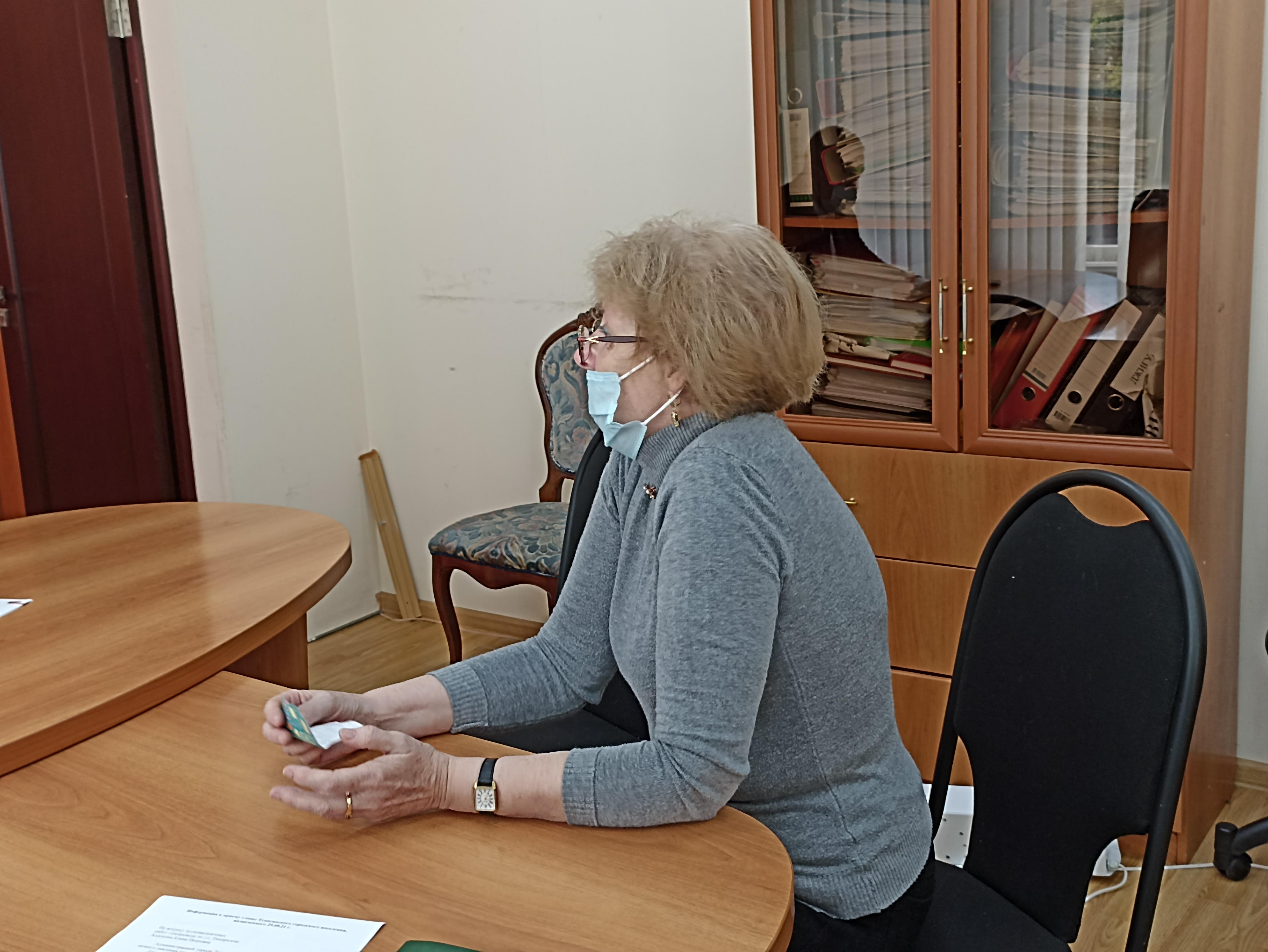 Сергей Бондаренко провел личный прием граждан