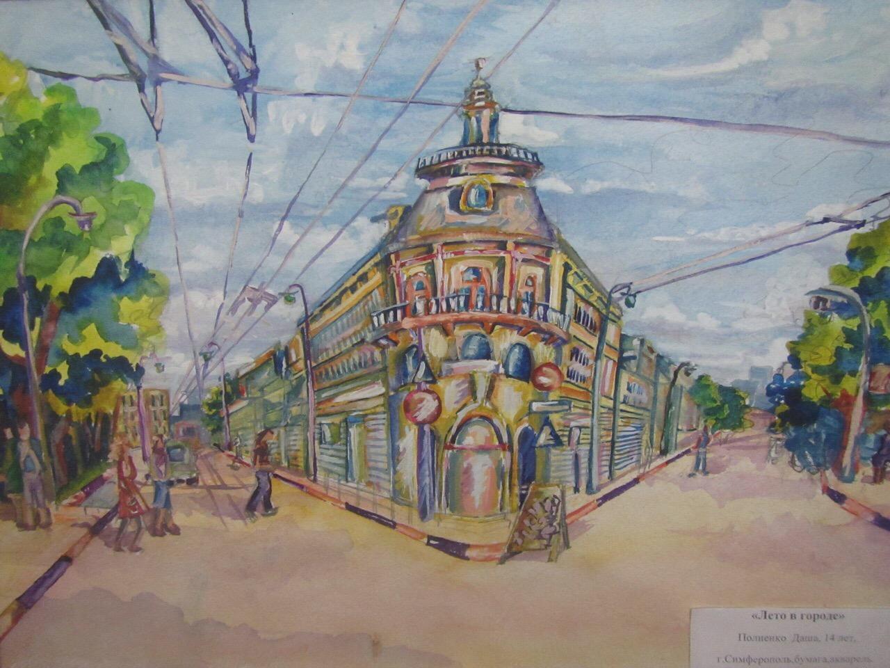 Выставка лучших работ Международного конкурса «Я рисую как Киселев»
