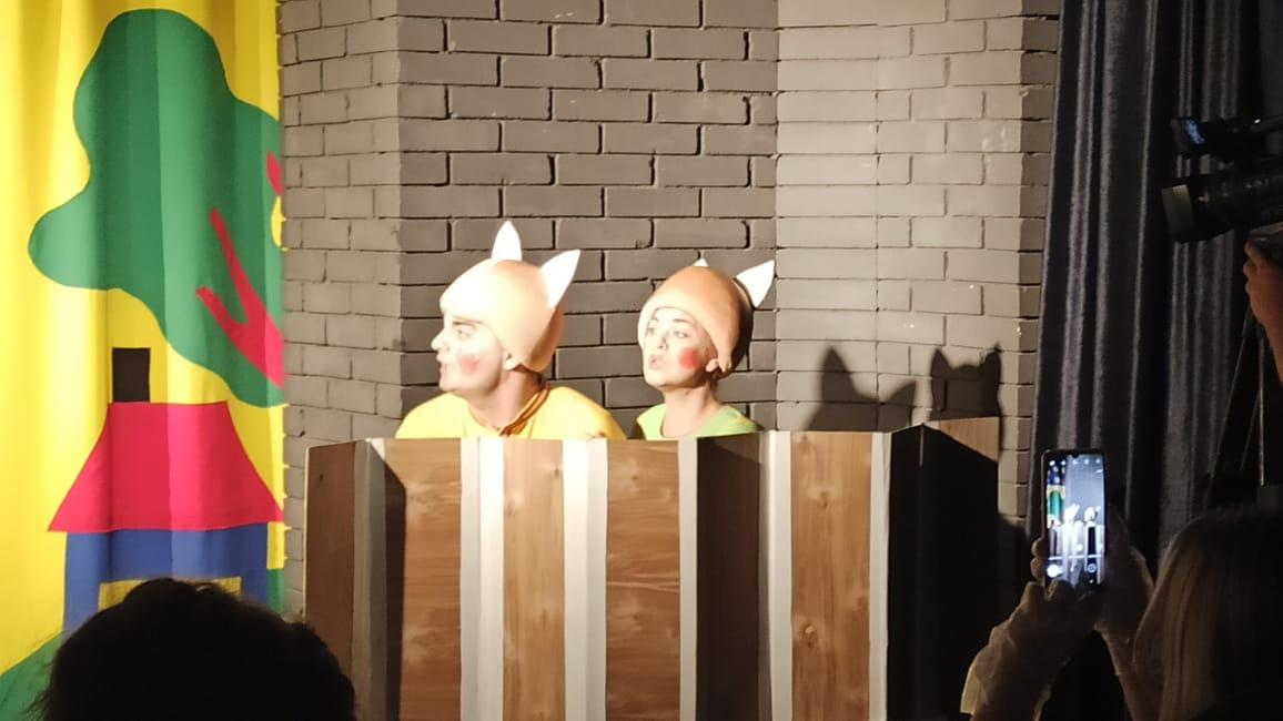 Премьера в Туапсинском театре юного зрителя