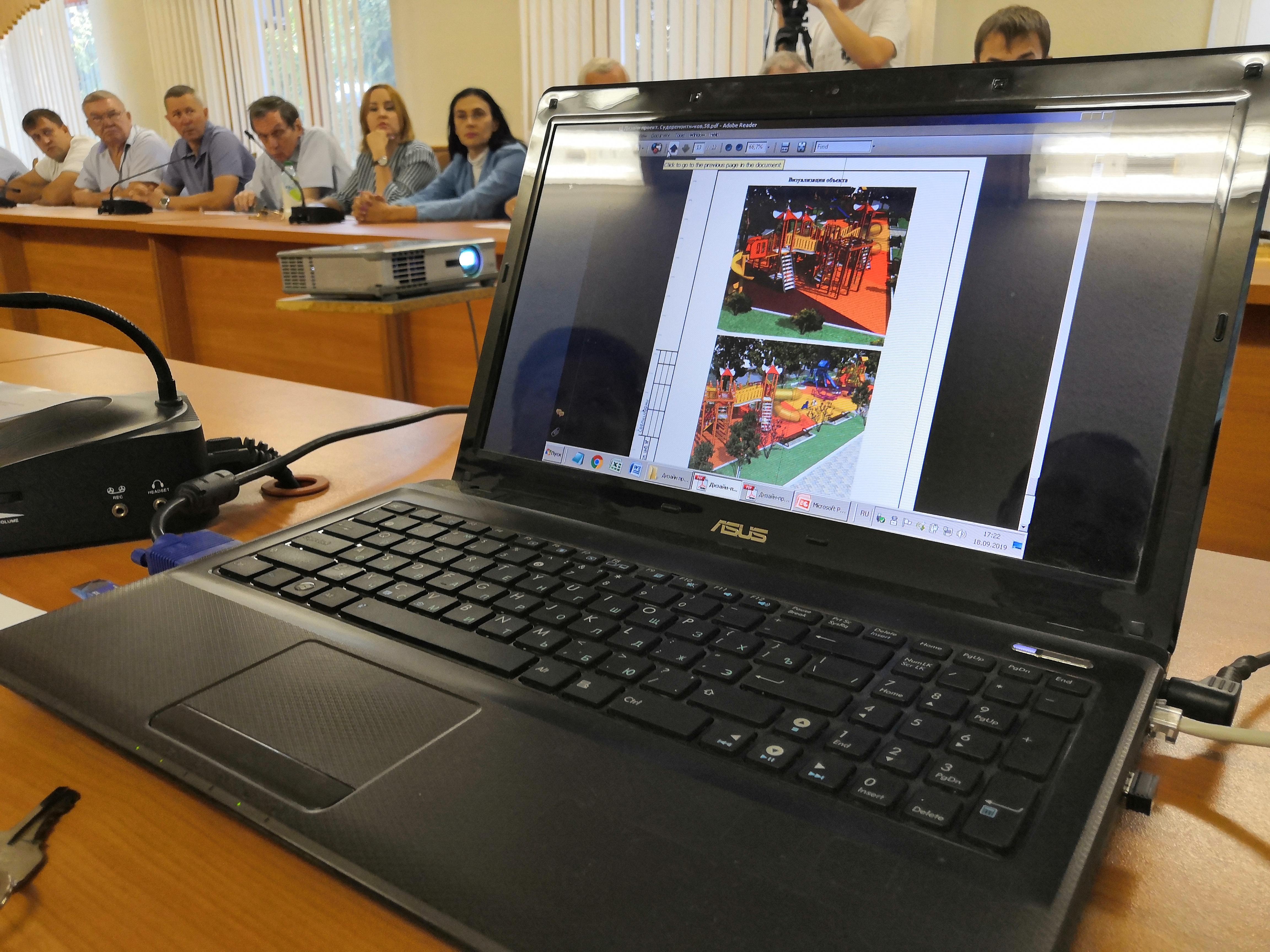 В Туапсе состоялось заседание общественной комиссии по реализации программы «Формирование современной городской среды»