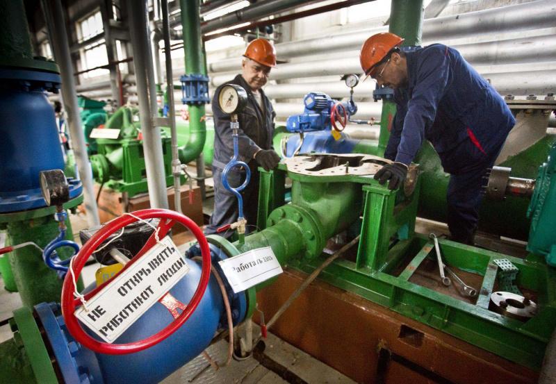 В Туапсе продолжаются ремонтные работы на объектах теплоснабжения