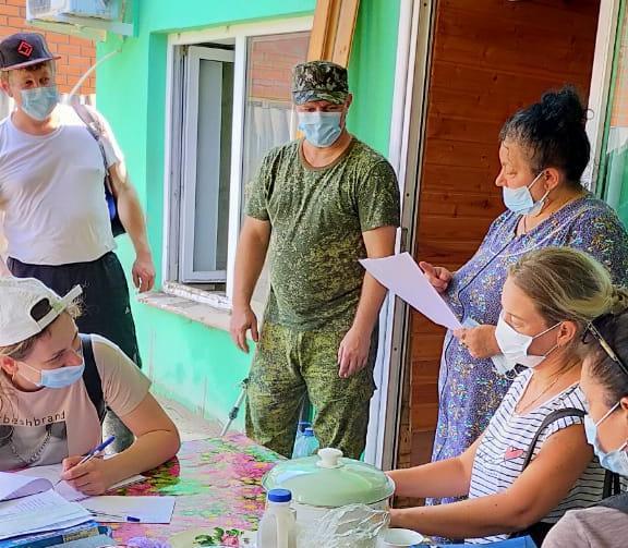 Жители города Туапсе помогают пострадавшим от подтопления в Джубгском и Тенгинском поселениях