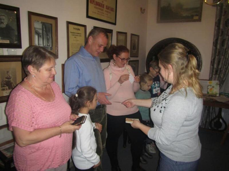 Арт-игра в музее А. А. Киселёва