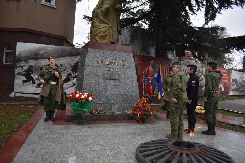 Вечная благодарность павшим защитникам Отечества