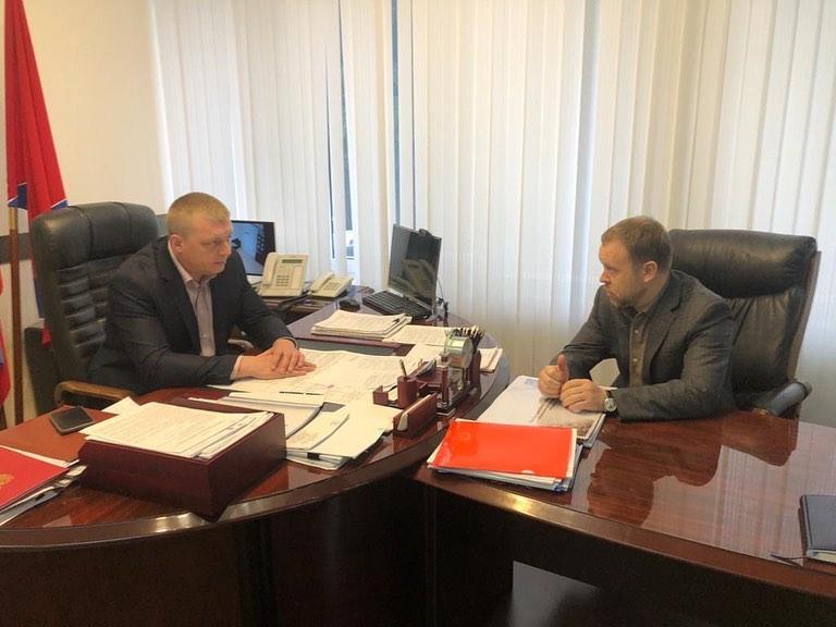 Встреча с депутатом ЗСК края Андреем Булдиным