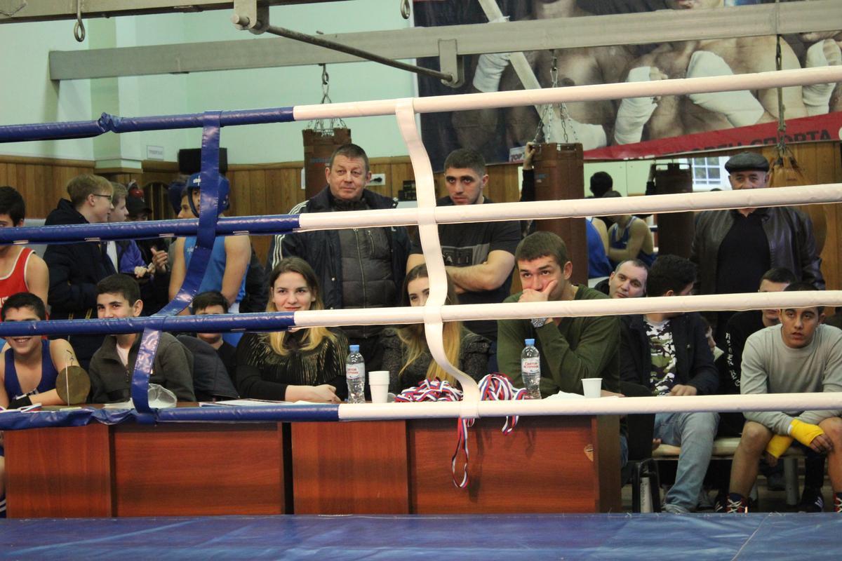 Турнир по боксу среди юношей, посвященный Дню защитника Отечества