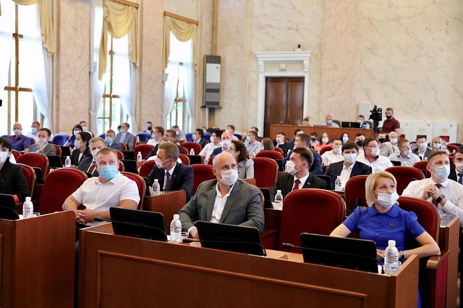 Общее собрание Совета молодых депутатов Кубани состоялось в краевом парламенте