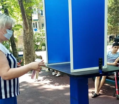 В Туапсе, как и по всей России, началось досрочное голосование по поправкам в Конституцию