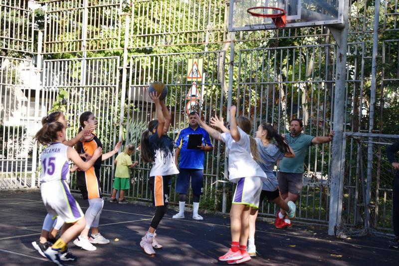 В Туапсе прошли Первенства по баскетболу и волейболу